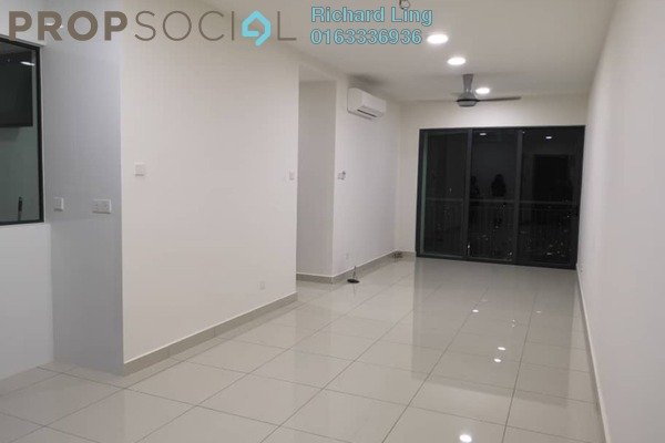 For Rent Serviced Residence at KL Traders Square, Kuala Lumpur Freehold Semi Furnished 3R/2B 1.5k