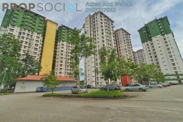 For Sale Apartment at Ilham Apartment, TTDI Jaya Freehold Unfurnished 3R/2B 250k