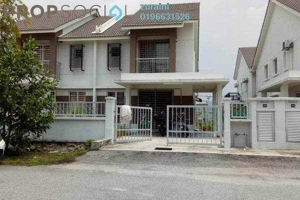 For Sale Semi-Detached at Bandar Puncak Alam, Kuala Selangor Freehold Unfurnished 4R/3B 450k