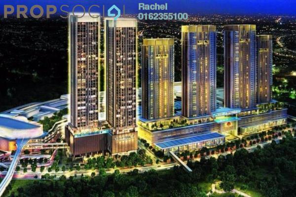 For Sale Condominium at The Park Sky Residence @ Bukit Jalil City, Bukit Jalil Freehold Semi Furnished 2R/2B 728k