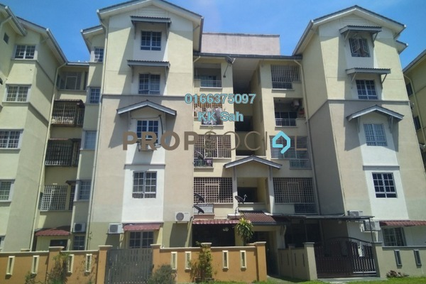 For Sale Apartment at Kasuarina Apartment, Klang Freehold Semi Furnished 3R/2B 245k