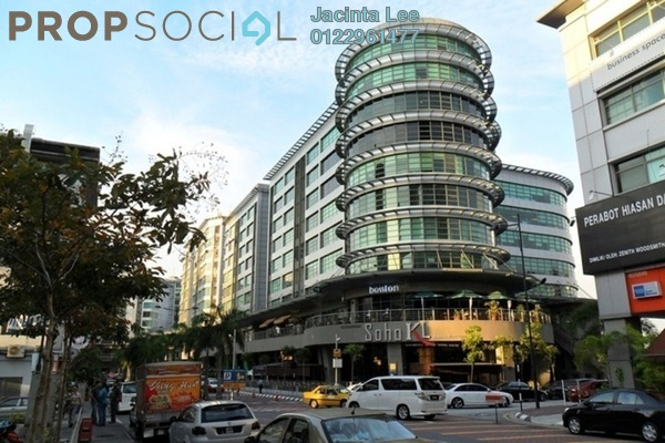 For Sale Office at Solaris Mont Kiara, Mont Kiara Freehold Unfurnished 0R/0B 762k