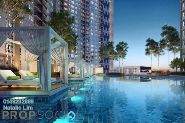 For Sale Condominium at Platinum Splendor Residence, Kuala Lumpur Freehold Unfurnished 3R/2B 473k