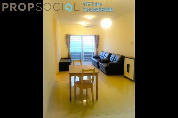For Rent Condominium at Kinrara Mas, Bukit Jalil Freehold Fully Furnished 3R/2B 1.3k