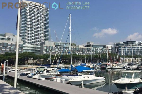 For Sale Duplex at Imperia, Puteri Harbour Freehold Semi Furnished 1R/1B 551k