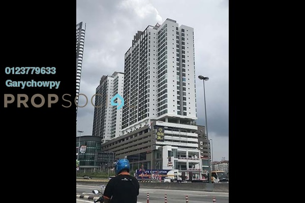 For Sale Condominium at Amerin Mall & Residence, Balakong Freehold Semi Furnished 3R/2B 401k