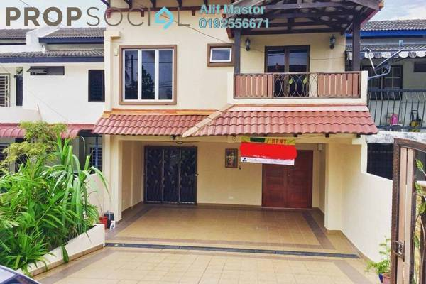 For Rent Terrace at Ampang Jaya, Ampang Freehold Semi Furnished 4R/3B 2.8k