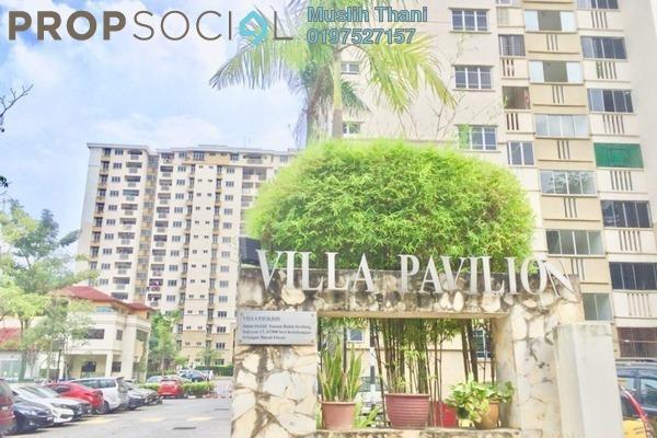 For Sale Condominium at Villa Pavilion, Seri Kembangan Freehold Semi Furnished 3R/2B 360.0千