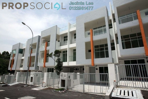 For Sale Townhouse at Chestwood Terrace, Bandar Utama Freehold Semi Furnished 3R/2B 635k