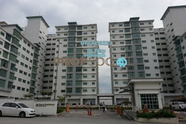 For Sale Condominium at Sierra Residency, Bandar Kinrara Freehold Unfurnished 3R/2B 420k