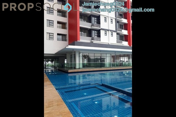 For Rent Condominium at D'Aman Residences, Puchong Freehold Fully Furnished 3R/2B 1.5k