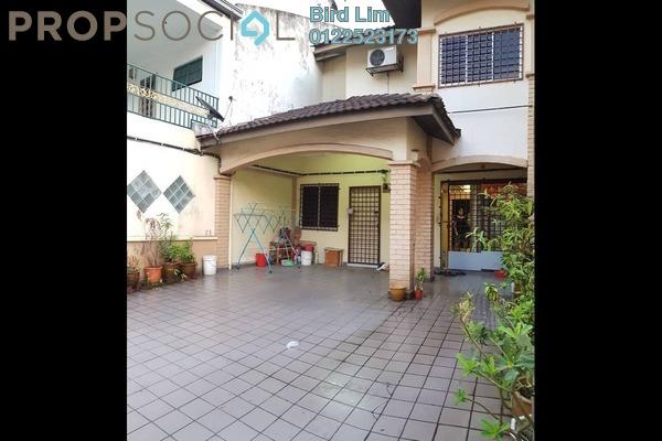 For Sale Terrace at Pandan Perdana, Pandan Indah Freehold Semi Furnished 4R/3B 779k