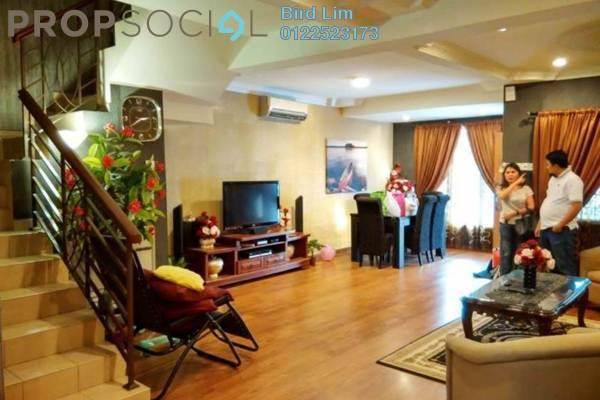 For Sale Terrace at Taman Muda, Pandan Indah Freehold Semi Furnished 4R/3B 715k