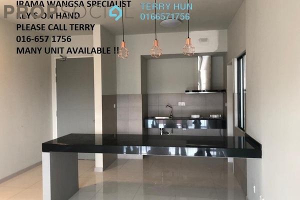 For Rent Condominium at Irama Wangsa, Wangsa Maju Freehold Semi Furnished 3R/2B 2.3k