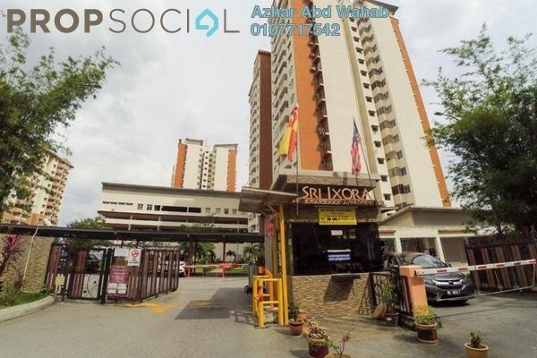 For Sale Apartment at Sri Ixora Apartment, Kajang Freehold Semi Furnished 3R/2B 280k