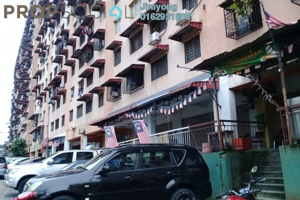 For Sale Apartment at Harmoni Apartment, Damansara Damai Freehold Fully Furnished 3R/2B 280k
