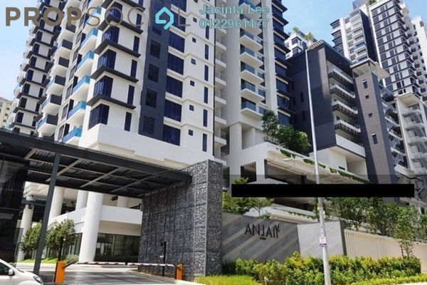 For Sale Condominium at Anjali @ North Kiara, Segambut Freehold Semi Furnished 3R/2B 700k