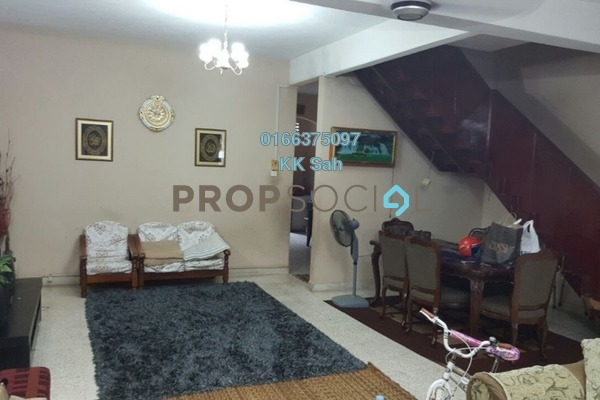 For Sale Superlink at Taman Delima, Cheras Freehold Semi Furnished 4R/3B 630k