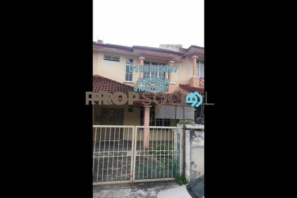 For Sale Terrace at Section 6, Bandar Mahkota Cheras Freehold Unfurnished 4R/3B 465k