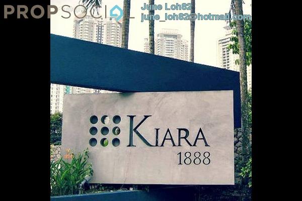 For Sale Condominium at Kiara 1888, Mont Kiara Leasehold Semi Furnished 3R/2B 850k