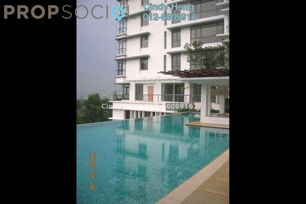 For Rent Condominium at Bangsar Peak, Bangsar Freehold Semi Furnished 4R/5B 13k