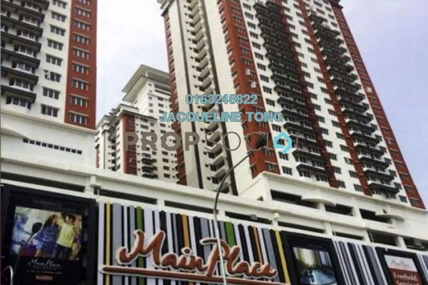 For Sale Serviced Residence at Main Place Residence, UEP Subang Jaya Freehold Unfurnished 2R/1B 388k