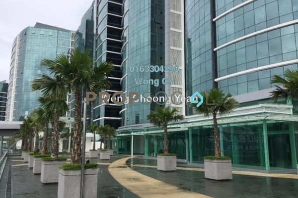 For Rent Office at UOA Business Park, Saujana Freehold Semi Furnished 0R/0B 12.5k