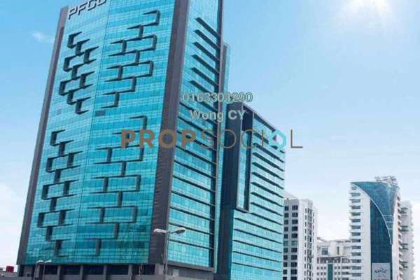 For Rent Office at PFCC, Bandar Puteri Puchong Freehold Semi Furnished 1R/1B 27k