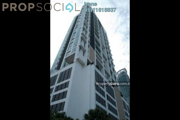 For Rent Condominium at The Meritz, KLCC Freehold Fully Furnished 2R/2B 4k