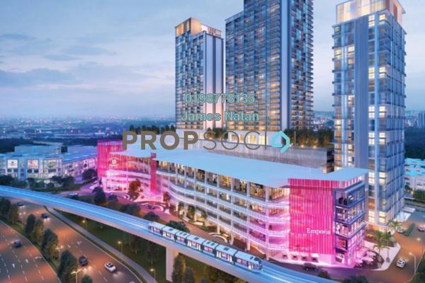 For Sale Serviced Residence at Emporis, Kota Damansara Freehold Semi Furnished 3R/2B 648k