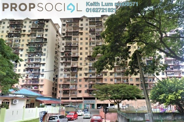 For Sale Apartment at Seri Nilam Apartment, Ampang Leasehold Unfurnished 3R/2B 130k
