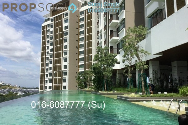 For Rent Condominium at Putra Residence, Putra Heights Freehold Semi Furnished 3R/2B 1.8k