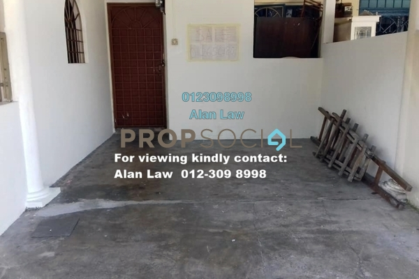 For Rent Townhouse at Pandan Indah, Pandan Indah Freehold Unfurnished 3R/2B 1.2k