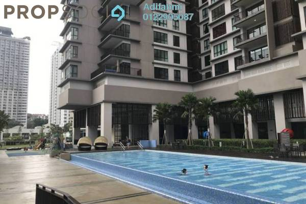 For Sale Condominium at Residensi 22, Mont Kiara Freehold Semi Furnished 4R/4B 1.79m
