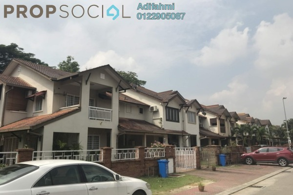 For Sale Terrace at Greenlane, Bukit Jelutong Freehold Semi Furnished 4R/3B 750k