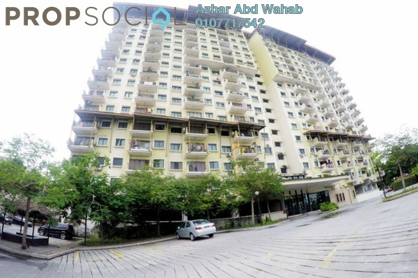For Sale Condominium at Puri Aiyu, Shah Alam Freehold Fully Furnished 4R/2B 380k
