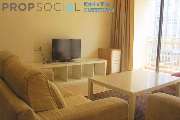 For Rent Condominium at Casa Kiara I, Mont Kiara Freehold Fully Furnished 3R/3B 2.5k