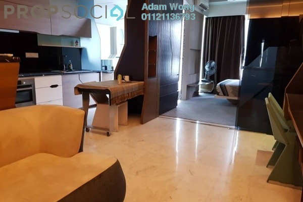For Rent Condominium at VERVE Suites, Mont Kiara Freehold Fully Furnished 1R/1B 2.2k