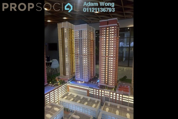 For Sale Condominium at Edusentral, Setia Alam Freehold Unfurnished 1R/1B 295k
