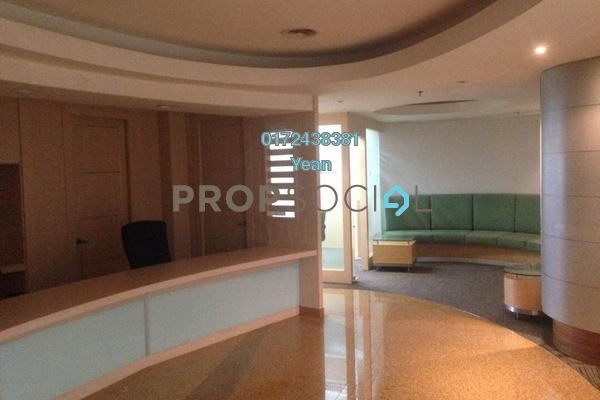 For Rent Office at Plaza Sentral, KL Sentral Freehold Semi Furnished 0R/0B 62.9k
