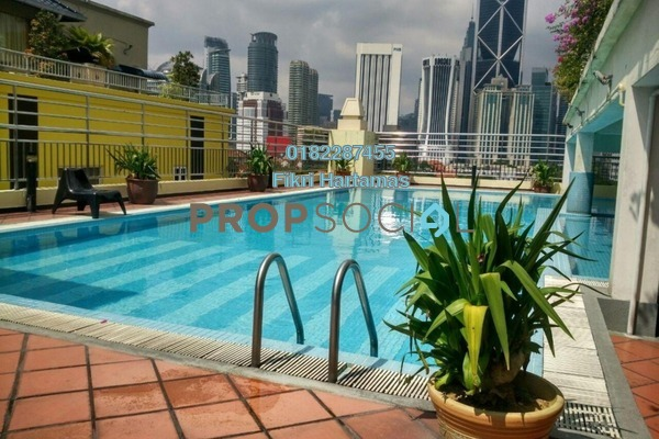 For Sale Condominium at Megan Ambassy, Ampang Hilir Freehold Fully Furnished 2R/1B 750k