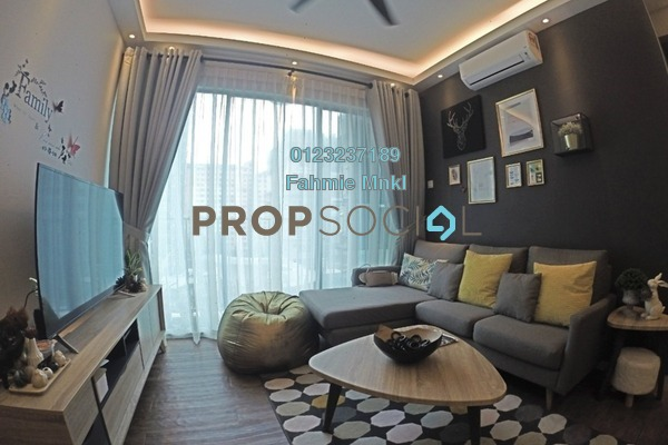 For Sale Serviced Residence at The Zizz, Damansara Damai Leasehold Fully Furnished 3R/2B 550k