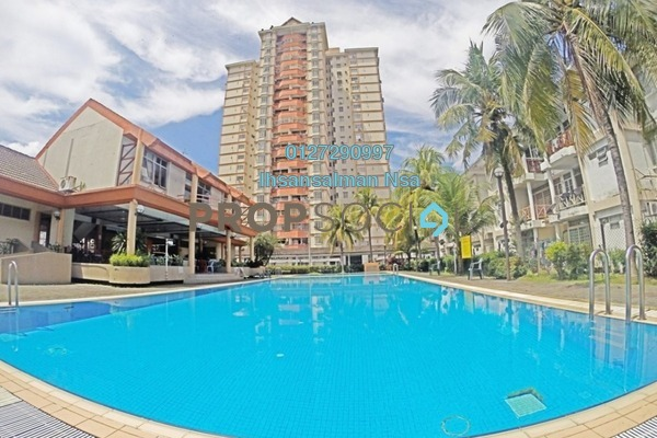 For Sale Condominium at Casa Ria, Cheras Freehold Fully Furnished 3R/2B 465k