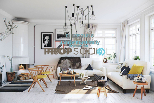 For Sale Condominium at Cantara Residences, Ara Damansara Freehold Semi Furnished 1R/1B 370k
