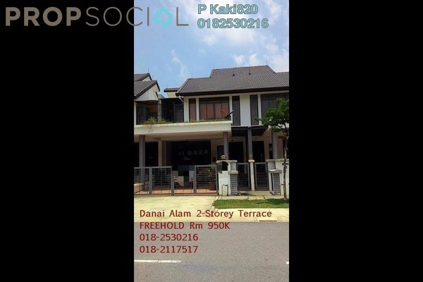 For Sale Terrace at Fernlane, Denai Alam Freehold Semi Furnished 5R/5B 950k
