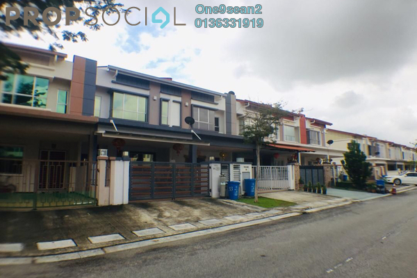 For Rent Terrace at Setia Indah, Setia Alam Freehold Semi Furnished 4R/3B 1.9k
