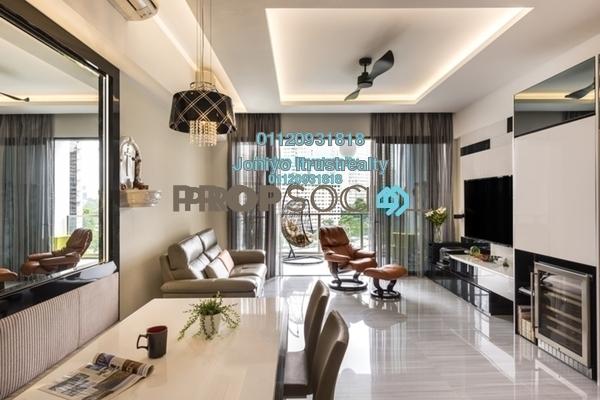 For Sale Condominium at Tropicana Gardens, Kota Damansara Freehold Semi Furnished 3R/2B 580k