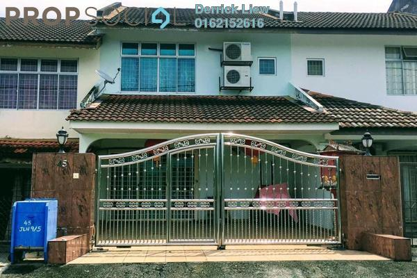 For Sale Terrace at Section 5, Bandar Mahkota Cheras Freehold Unfurnished 4R/3B 499k