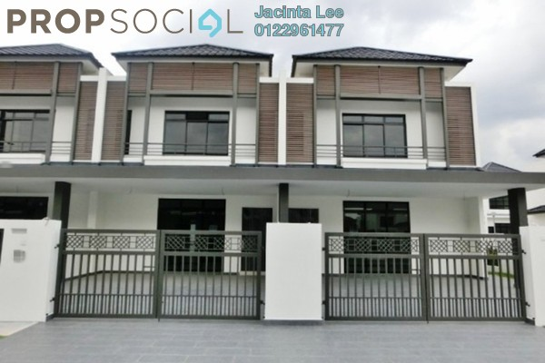 For Sale Terrace at Eco Summer, Tebrau Freehold Semi Furnished 4R/4B 711k