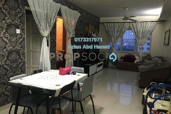 For Sale Apartment at The Lumayan, Bandar Sri Permaisuri Freehold Semi Furnished 3R/2B 348k